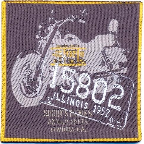 motiv flicken zum aufb geln motorrad 15802 schneidereibedarf werner. Black Bedroom Furniture Sets. Home Design Ideas