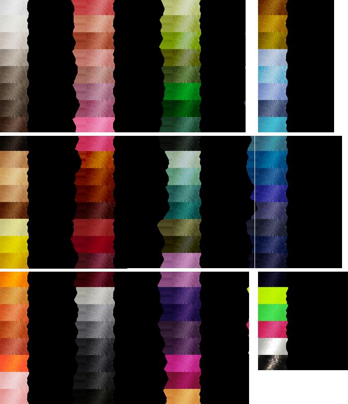 Farbkarte Nähgarn Poylester